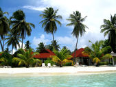 Island Maldives — Stock Photo
