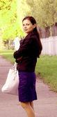 Chica afuera — Foto de Stock
