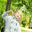 Child on nature — Stock Photo