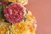 Handmade flower fabric — Stock Photo