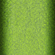Green abstract background from vinyl fiber — Stock Photo