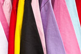 Colorful t-shirt — Stock Photo