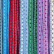 Stock Photo: Colorful handcrafted belts with beads