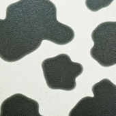 Cow print on seamless leather — Stock Photo