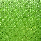 Vidro verde de fundo — Fotografia Stock
