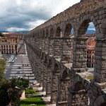 Roman aqueduct, Segovia — Stock Photo