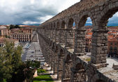 Roman aqueduct, Segovia — Photo