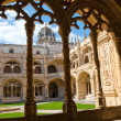 Monastery of jeronimos in Belem, Portugal - Stock Photo