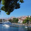 Cavtat harbor - Stock Photo
