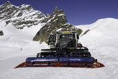Snowplow equipment of the Jungfrau region — Stock Photo