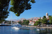 Cavtat harbor — Stock Photo