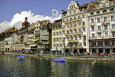 At noon in Lucerne — Photo