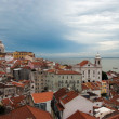Portugal-Lisbon-Alfama-district - Stock Photo