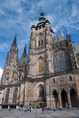 St. Vitus Cathedral. Prague — Stock Photo