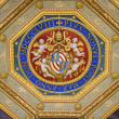 Fragment of the ceiling of the Vatican Museums - Stock Photo