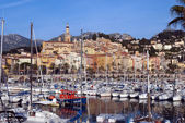 Port in Menton, France — Stock Photo