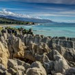 Pancake Rocks, Punakaiki, West Coast, New Zealand — Stockfoto