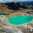 Stock Photo: Emerald Lakes, Tongariro National Park, New Zealand