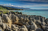 Pancake Rocks, Punakaiki, West Coast, New Zealand — Stock Photo