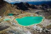 Emerald Lakes, Tongariro National Park, New Zealand — Stock Photo
