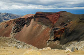 Red Crater, Tongariro National Park, New Zealand — Stock Photo