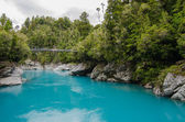 Hokitika Gorge, Hokitika, New Zealand — Stock Photo