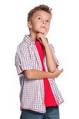 портрет мальчика — Стоковое фото
