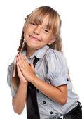 少女の肖像画 — ストック写真