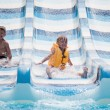 Stock Photo: Children at aqua park