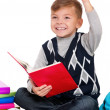 Boy with books — Stock Photo #14503191