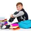 Boy with books — Stock Photo #21495757