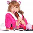 Royalty-Free Stock Photo: Makeup little girl