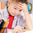 Boy doing homework — Stock Photo #28272691