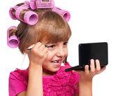 化粧女の子 — ストック写真