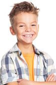 Portrait of boy — Stock Photo