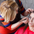 Stock Photo: Preparing eyebrow