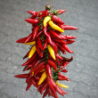 Stock Photo: Hanging peppers