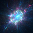 Stock Photo: Abstract neutron star background