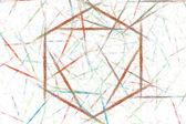 Abstract hexagon background — Stock Photo