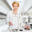Medical experiment in lab — Stock Photo