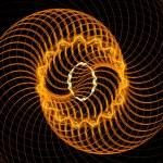 Orange spirals — Stock Photo