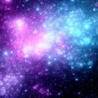 Stock Photo: Deep space with nebula