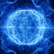 Stock Photo: Ball lightning