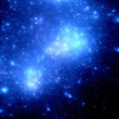 Stars in deep space — Stock Photo #43764595