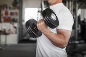 Active man workout — Stockfoto