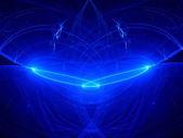 Plasma curves in space — Stockfoto