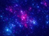 Young stars in deep space — Stock Photo