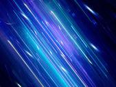 Futuristic blue neon background — Stock Photo