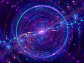 Colorful wormhole — Stock Photo
