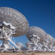 Stock Photo: Very Large Radio Satellite Dishes